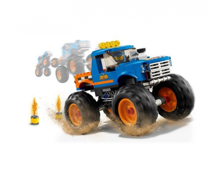 LEGO® City Great Vehicles Camion gigant 60180 4