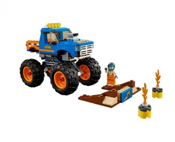 LEGO® City Great Vehicles Camion gigant 60180 1