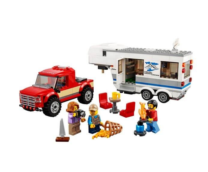 LEGO® City Great Vehicles Camioneta si rulota 60182 4