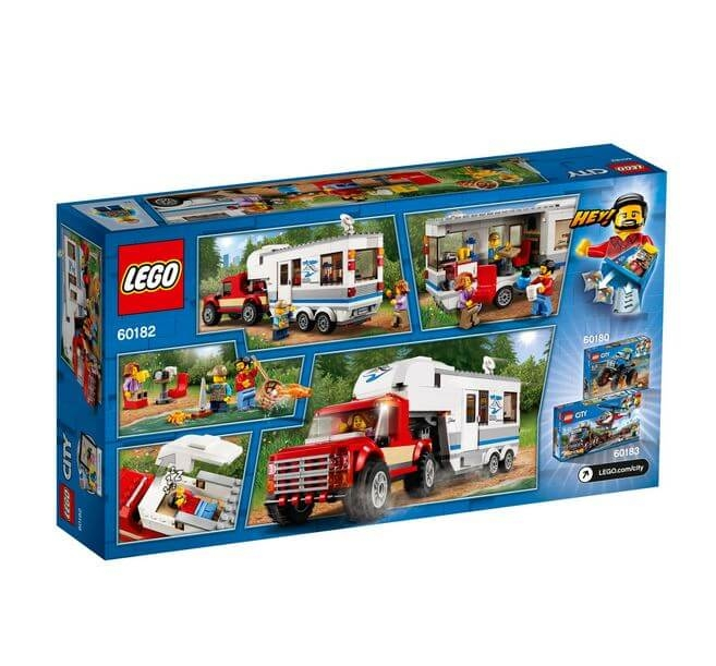 LEGO® City Great Vehicles Camioneta si rulota 60182 3
