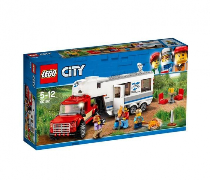 LEGO® City Great Vehicles Camioneta si rulota 60182 0