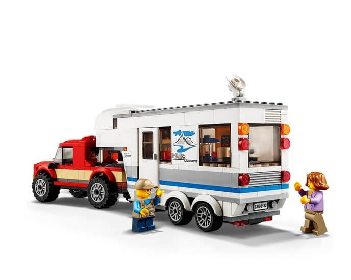 LEGO® City Great Vehicles Camioneta si rulota 60182 2
