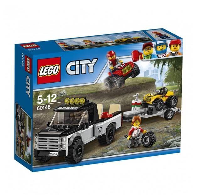 LEGO® City Great Vehicles Echipa de curse pe ATV 60148 0