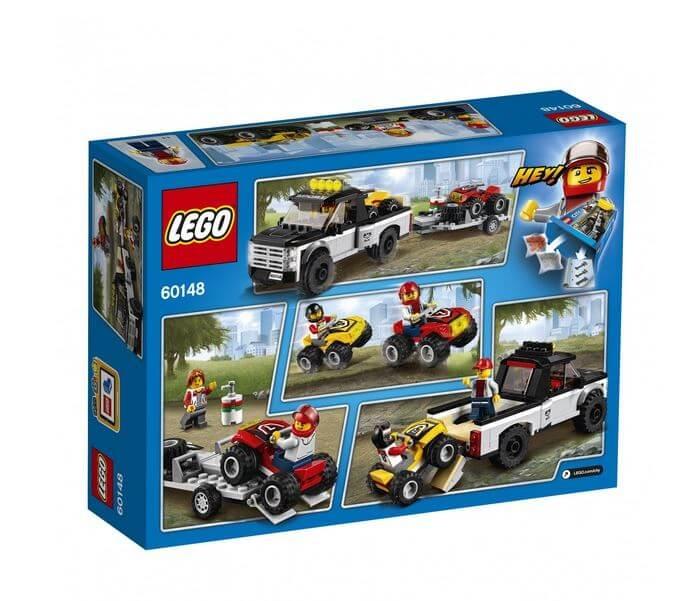 LEGO® City Great Vehicles Echipa de curse pe ATV 60148 2
