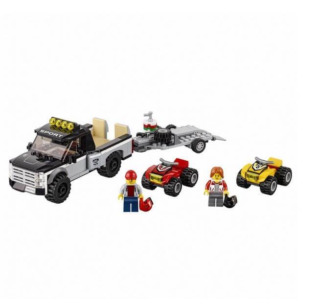 LEGO® City Great Vehicles Echipa de curse pe ATV 60148 1