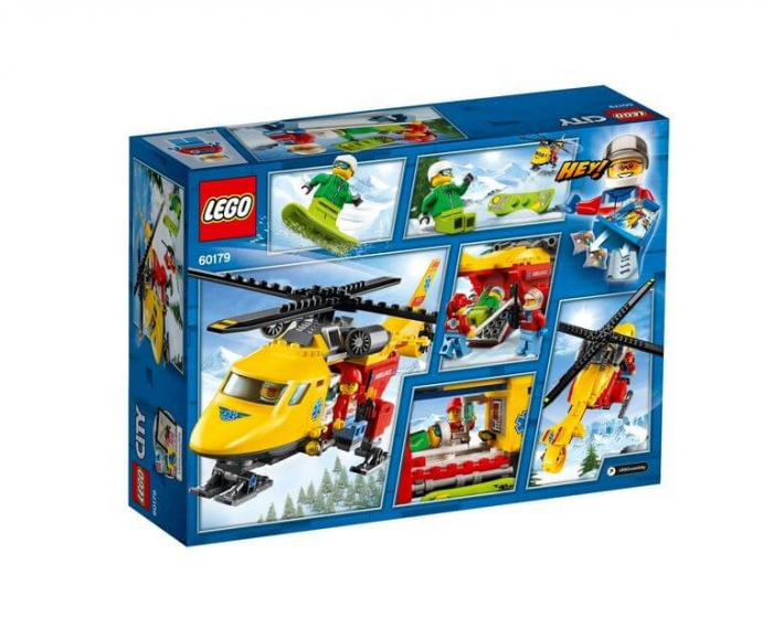 LEGO® City Great Vehicles Elicopterul ambulanta 60179 1