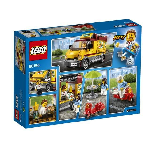 LEGO® City Great Vehicles Furgoneta de pizza 60150 1