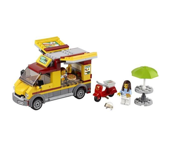 LEGO® City Great Vehicles Furgoneta de pizza 60150 2