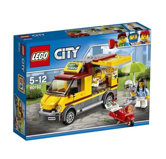 LEGO® City Great Vehicles Furgoneta de pizza 60150 0