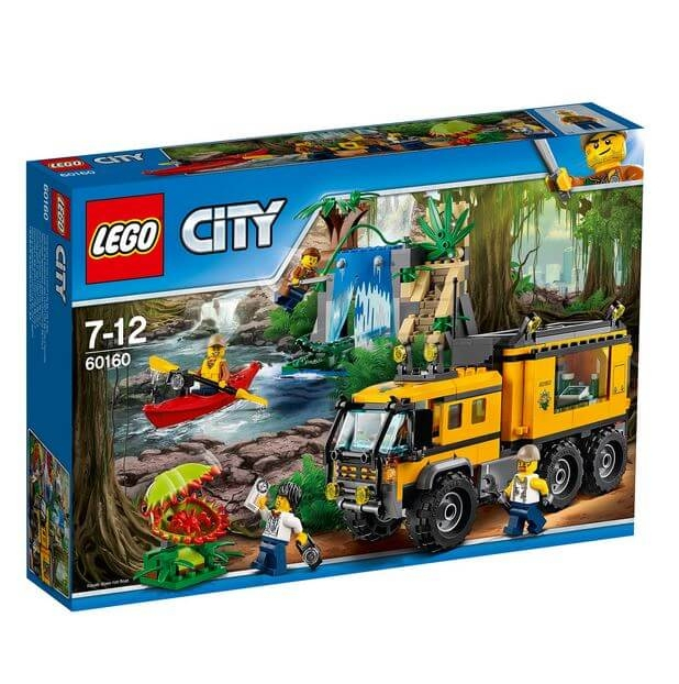 LEGO® City Great Vehicles Laboratorul mobil din jungla 60160 3