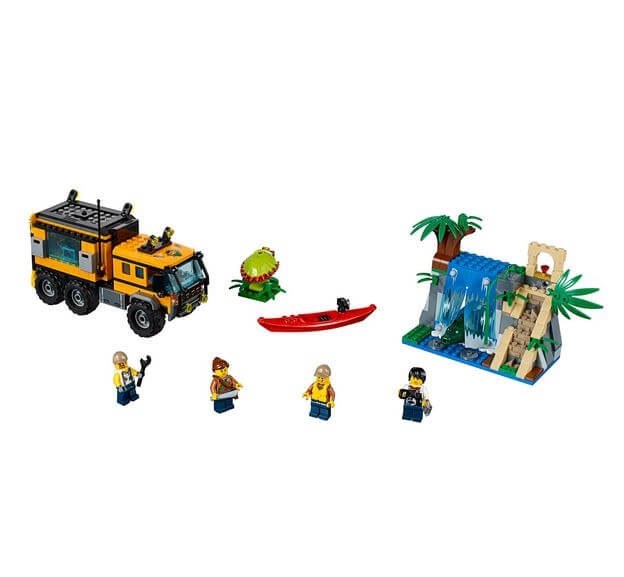 LEGO® City Great Vehicles Laboratorul mobil din jungla 60160 2