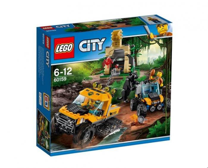 LEGO® City Great Vehicles Misiune in jungla cu autoblindata 60159 0