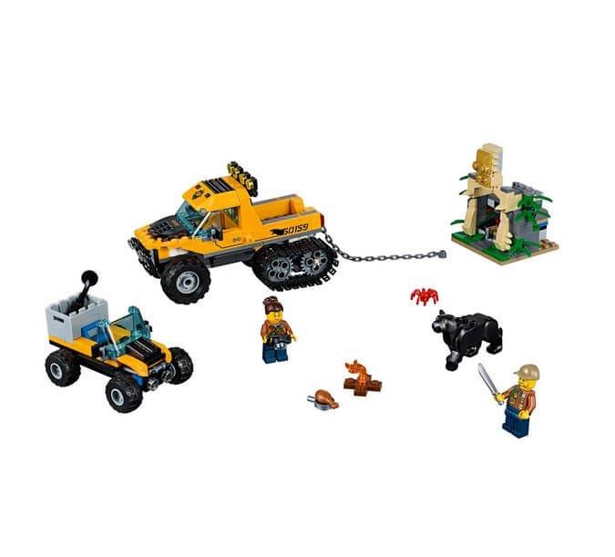 LEGO® City Great Vehicles Misiune in jungla cu autoblindata 60159 3