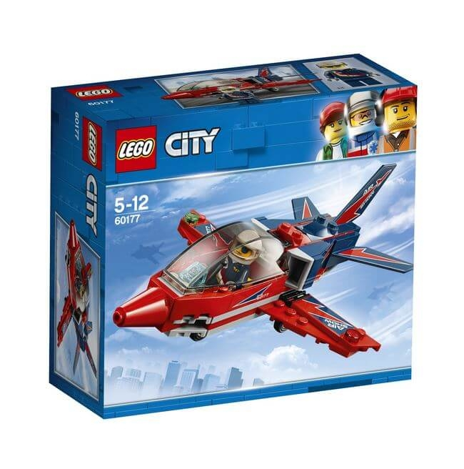 LEGO® City Great Vehicles Spectacol aviatic 60177 0