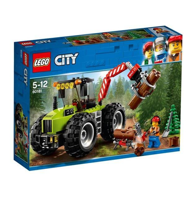 LEGO® City Great Vehicles Tractor de padure 60181 0