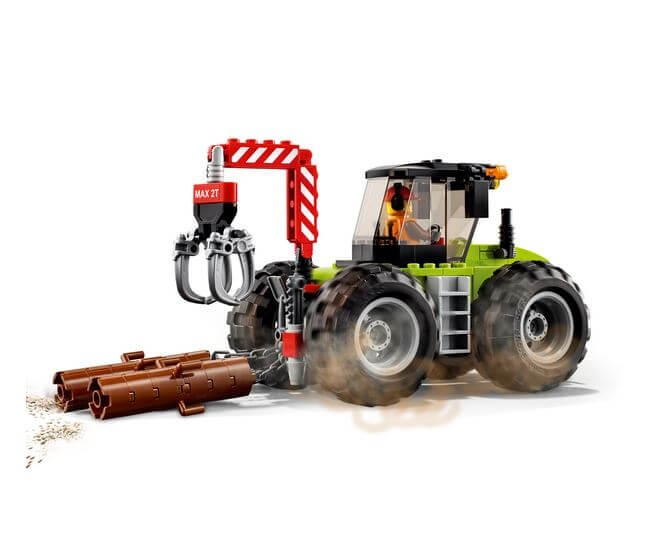 LEGO® City Great Vehicles Tractor de padure 60181 1