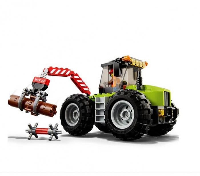 LEGO® City Great Vehicles Tractor de padure 60181 2