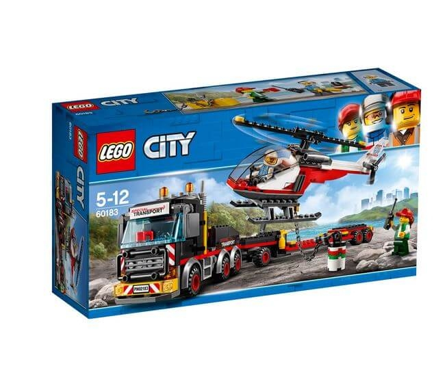 LEGO® City Great Vehicles Transport de incarcaturi grele 60183 0