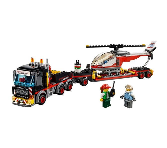 LEGO® City Great Vehicles Transport de incarcaturi grele 60183 2