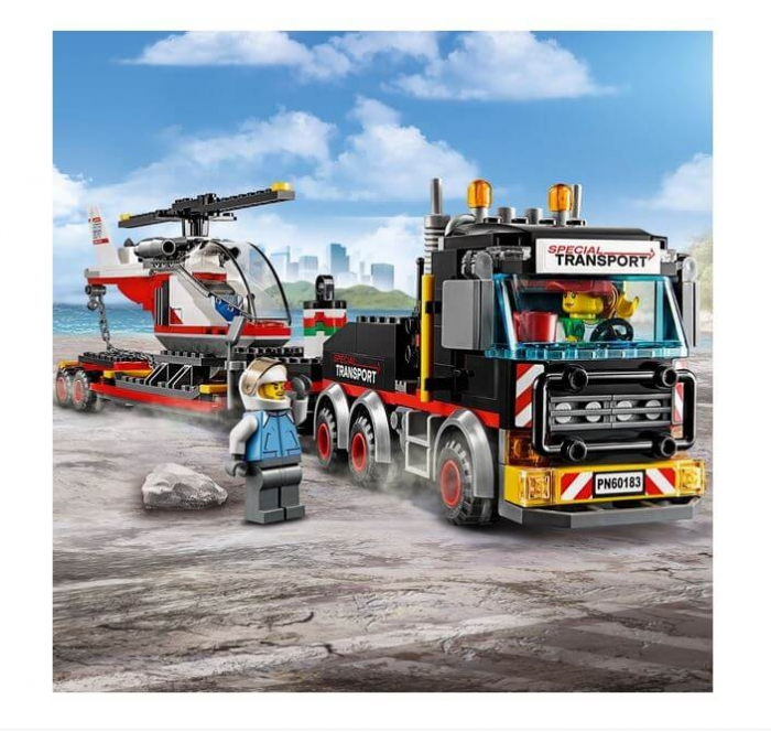 LEGO® City Great Vehicles Transport de incarcaturi grele 60183 4