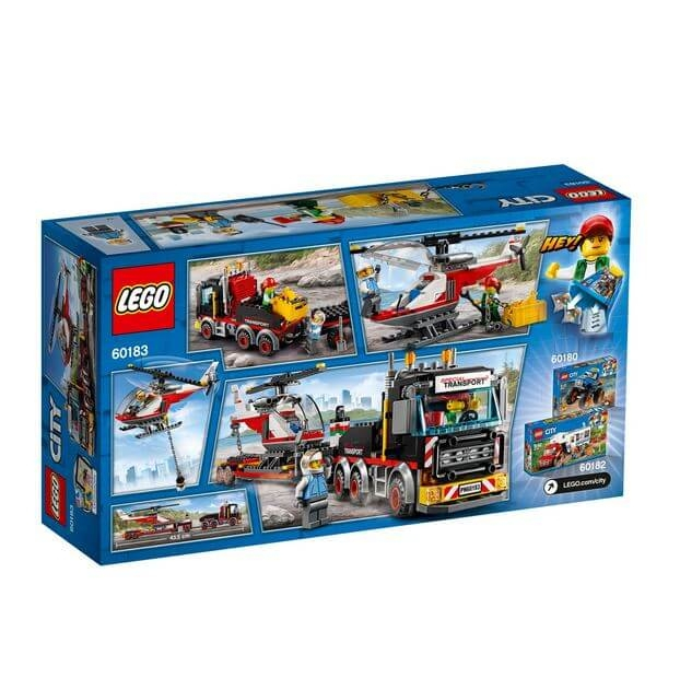 LEGO® City Great Vehicles Transport de incarcaturi grele 60183 1