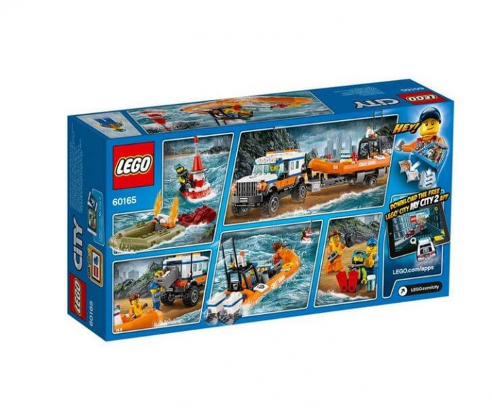 LEGO® City Great Vehicles Unitatea de interventie 4 x 4 60165 2