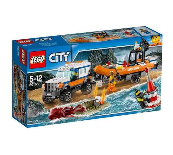 LEGO® City Great Vehicles Unitatea de interventie 4 x 4 60165 0