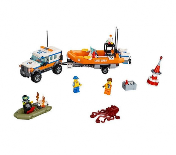 LEGO® City Great Vehicles Unitatea de interventie 4 x 4 60165 1
