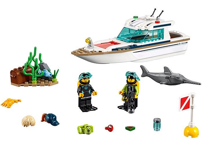 LEGO® City: Iaht pentru scufundări 60221 [0]