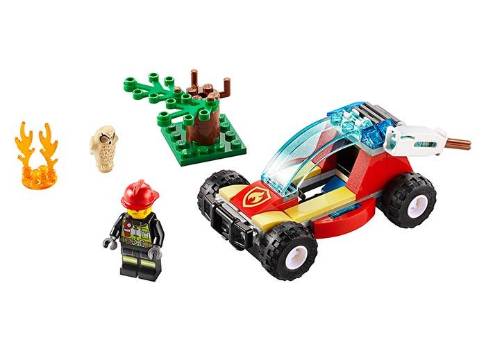 LEGO® City: Incendiu in padure 60247 0