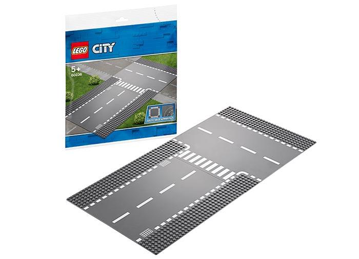 LEGO® City: Intersecție dreaptă și în T 60236 [1]