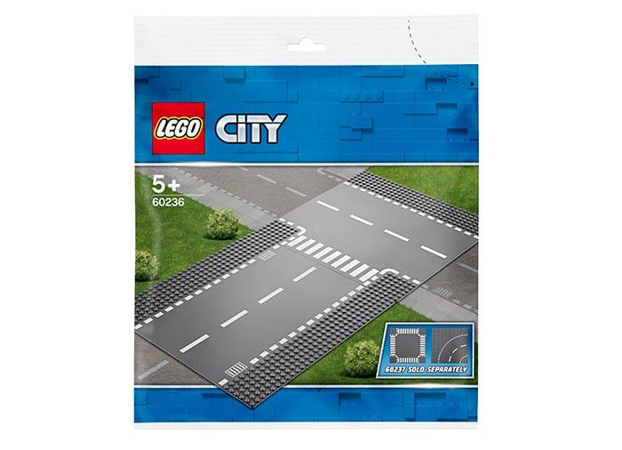 LEGO® City: Intersecție dreaptă și în T 60236 [2]