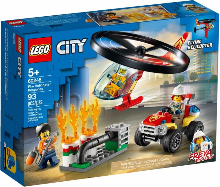 LEGO® City: Interventie cu elicopterul de pompieri 60248 [0]
