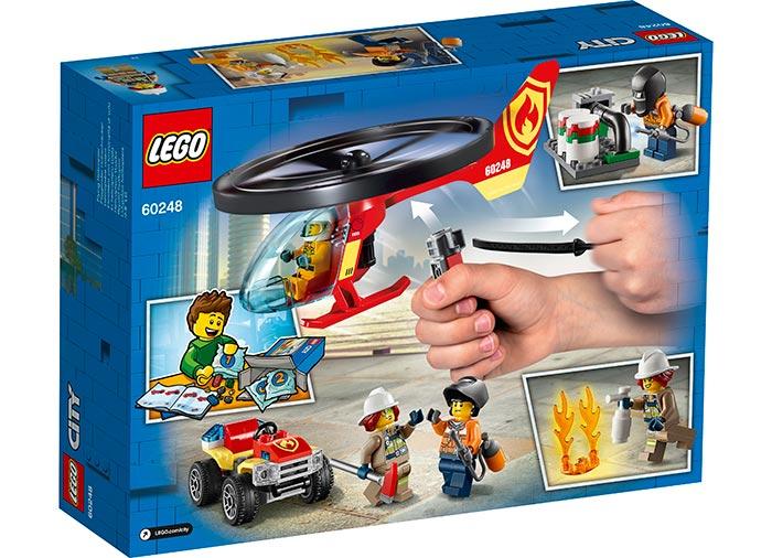 LEGO® City: Interventie cu elicopterul de pompieri 60248 [2]