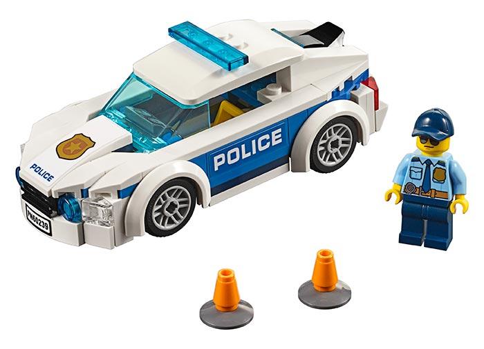 LEGO® City: Mașină de poliție pentru patrulare 60239 0