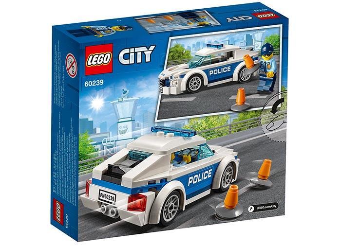LEGO® City: Mașină de poliție pentru patrulare 60239 1