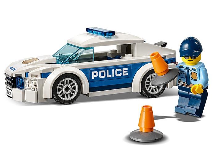 LEGO® City: Mașină de poliție pentru patrulare 60239 2