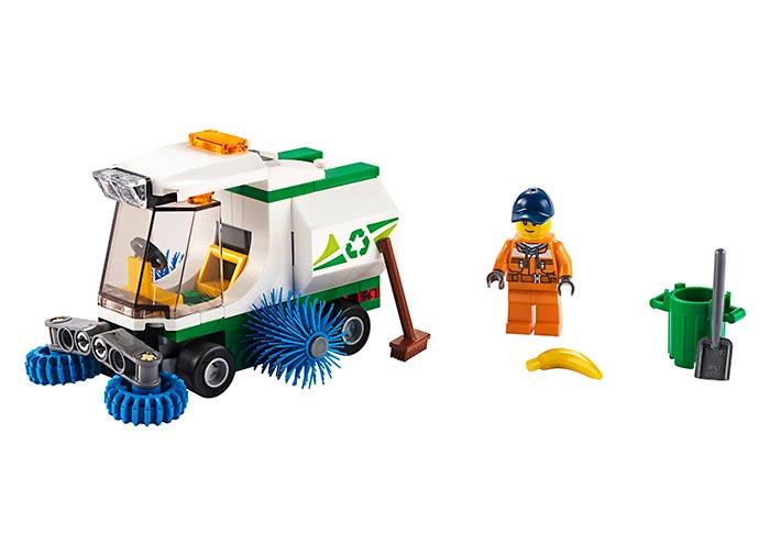 LEGO® City: Masina de maturat strada 60249 0