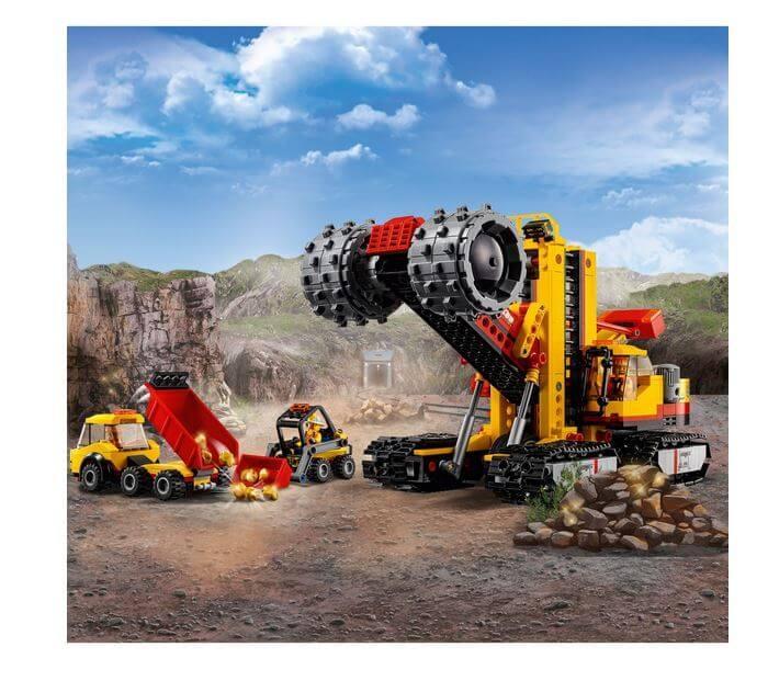 LEGO® City Mining Amplasamentul minerilor experti 60188 1