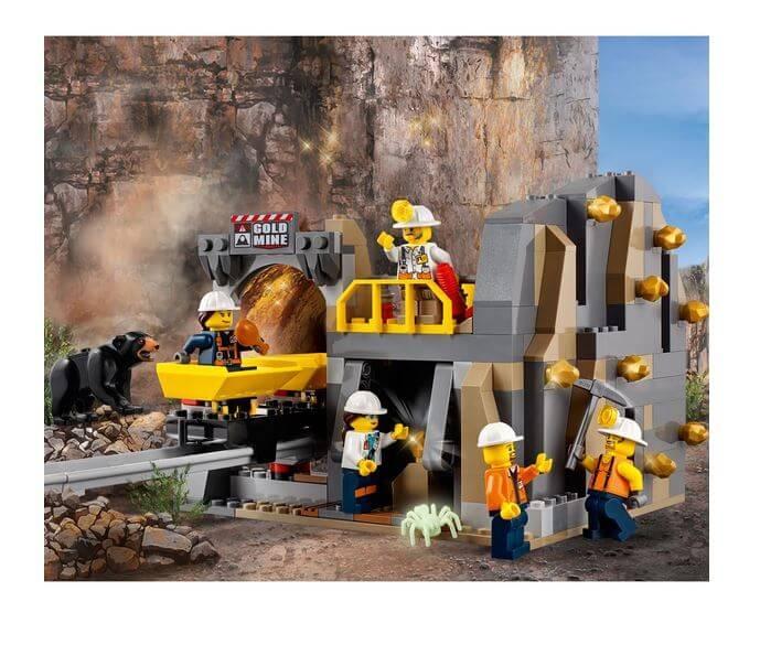 LEGO® City Mining Amplasamentul minerilor experti 60188 3
