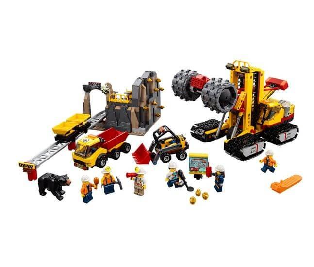 LEGO® City Mining Amplasamentul minerilor experti 60188 2