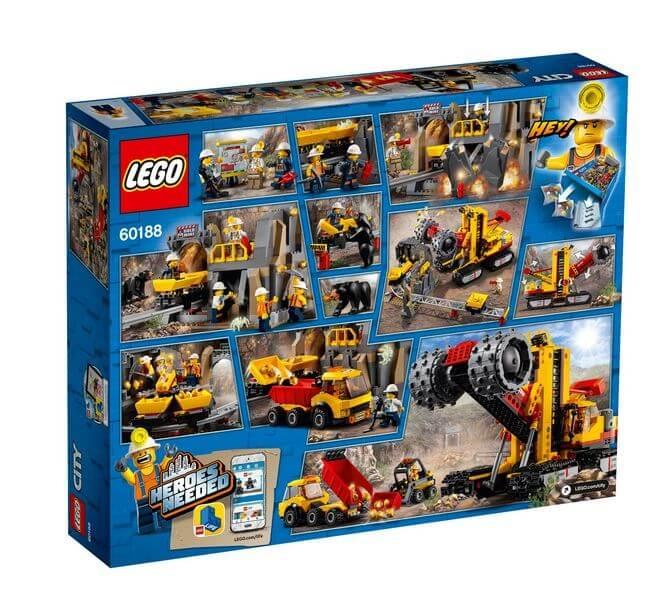 LEGO® City Mining Amplasamentul minerilor experti 60188 4