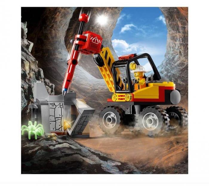 LEGO® City Mining Ciocan pneumatic pentru minerit 60185 2