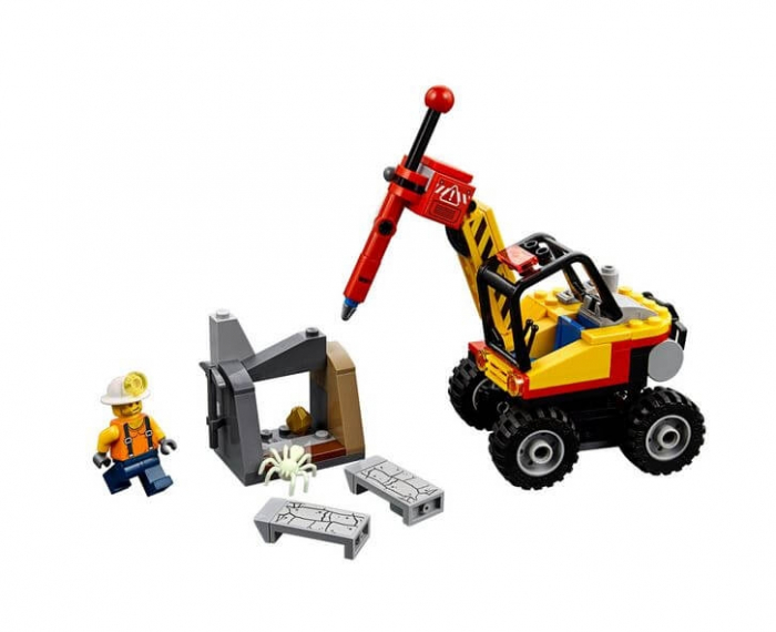 LEGO® City Mining Ciocan pneumatic pentru minerit 60185 4