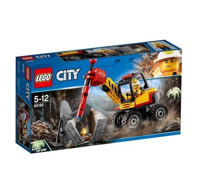 LEGO® City Mining Ciocan pneumatic pentru minerit 60185 0