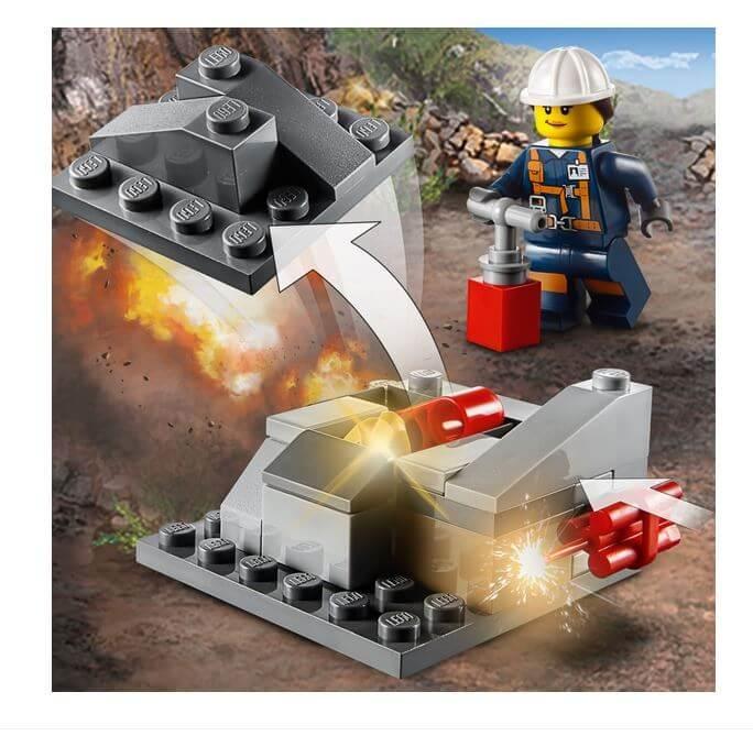 LEGO® City Mining Echipa de minerit 60184 4