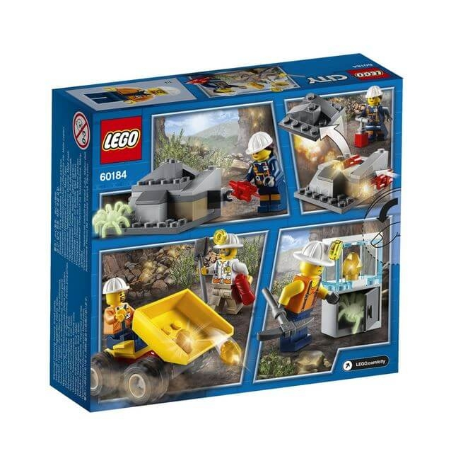 LEGO® City Mining Echipa de minerit 60184 2