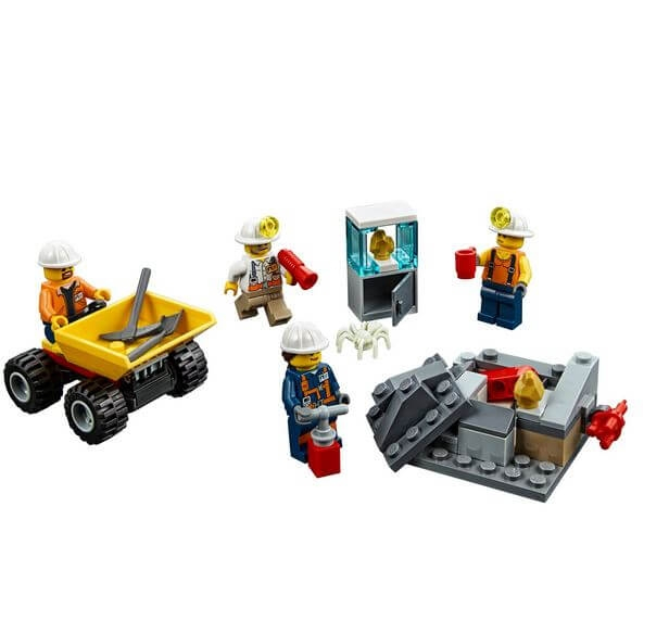 LEGO® City Mining Echipa de minerit 60184 1