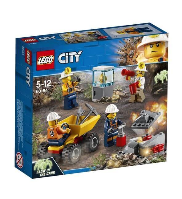 LEGO® City Mining Echipa de minerit 60184 0