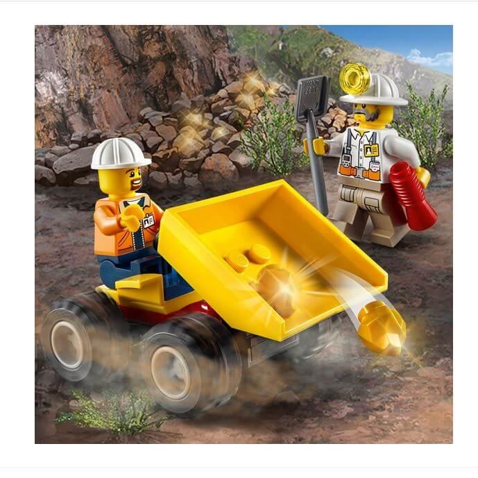 LEGO® City Mining Echipa de minerit 60184 5